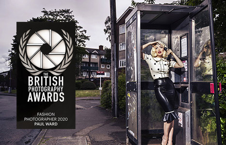 British photography awards fashion photography category winner Paul Ward